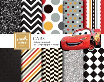 Cars Digital Paper