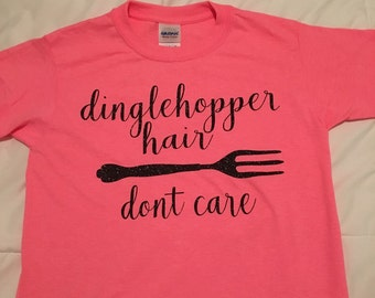 Dinglehopper hair shirt
