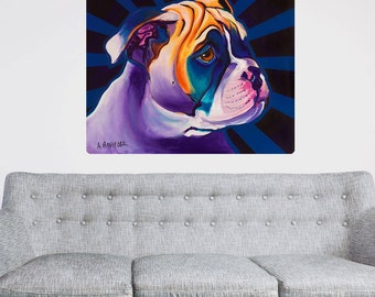 Bob Boxer Puppy Dog Wall Decal - #59946