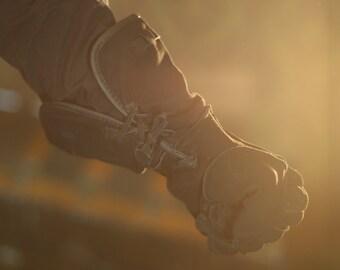 Darksuede Medieval Gloves