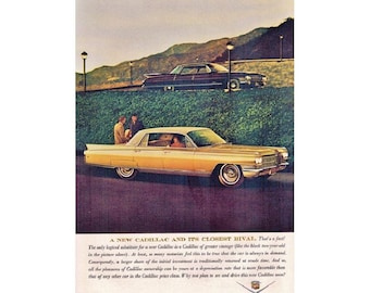 Vintage newspaper ad for a 1963 Cadillac - 7