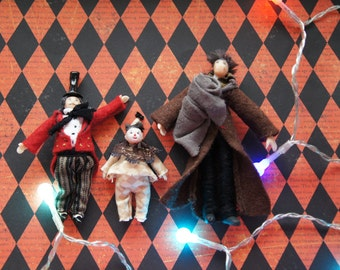 Big Fish Tim Burton fan dolls - ONE to choose