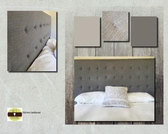 Custom made upholstered bedheads