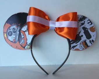 BB-8 Inspired Mouse Ears
