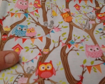 """Tree Party by Riley Blake Fabrics - 45"""" wide - 1/2m - 2 colours"""