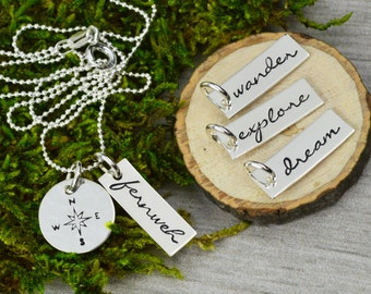 Choose Your Charm Travel Inspiration Necklace