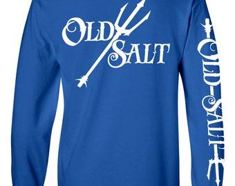Old salt brand t shirt apparel fishing surfing diving for Old salt fishing