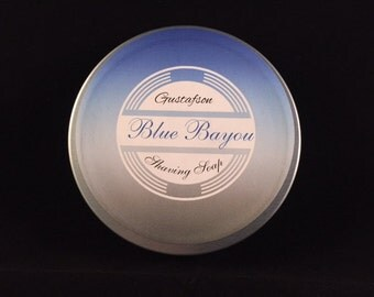 Gustafson Blue Bayou Shaving Soap 3oz