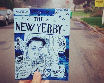 The New Yerby -- nonfiction collage comics by liz yerby