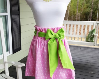 sample sale womens derby skirt SASH NOT INCLUDED size xsmall only