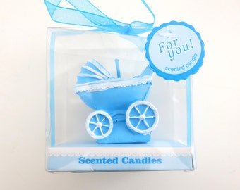 """1pc """"baby boy"""" baby shower candle (D4)"""