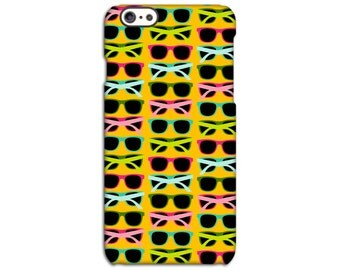 Neon Sun Glasses Case for iPhone 4/4S 5/5S 5C 6/6S 6/6S Plus