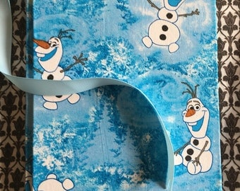 Olaf. Hand Bound Note Book.