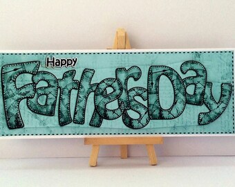 Green Fathers Day Card * Happy Fathers Day * Card For Dad * Fathers Day Card * Handmade Card * Fathers Day * Happy Fathers Day Card * Dad *