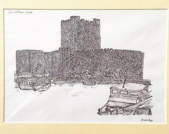 Carrickfergus Castle Print