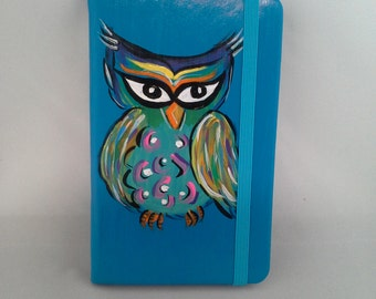 Painted Owl journal