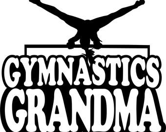 Gymnastics Grandma Shirt/ Gymnastics Shirts/ Girl Gymnast Gymnastics Grandma T Shirt/ Gymnastics Gifts