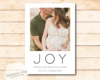 Joy XOXO  // Holiday Photo Card