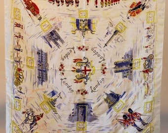 LONDON souvenir scarf