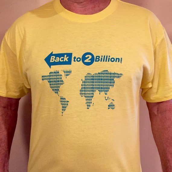 Back to 2 Billion T-Shirt