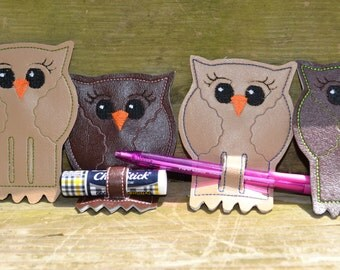 Owl Pen/Chapstick Holder