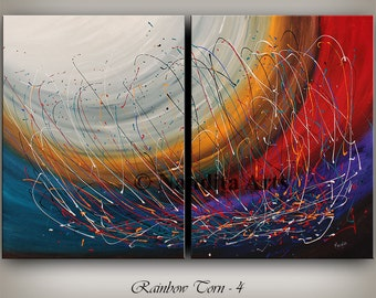 Original Acrylic Abstract painting ABSTRACT PAINTINGS Modern Art for sale LARGE modern art abstract fine art Nandita