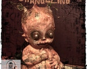 CHANGELING-OOAK Creepy Doll Faery Horror Art Fairy