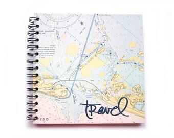 Travel diary, Travel, square