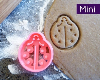 Mini 3D Printed Ladybug Cookie Cutter