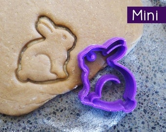 Mini 3D Printed Bunny Rabbit Cookie Cutter
