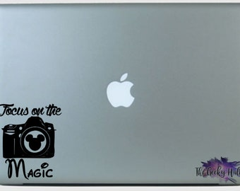 Focus On The Magic Car Decal