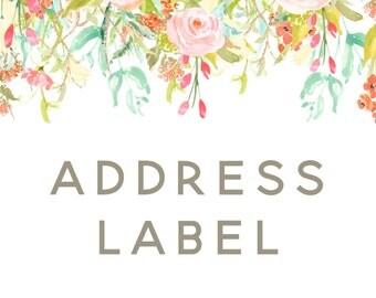 Custom Address Label