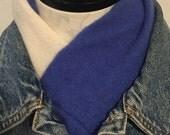 Cashmere Scarf   Blue Cas...