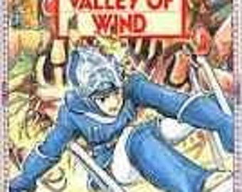 Nausicaa of the Valley of Wind With Moebius Poster ORIGINAL COMIC BOOK