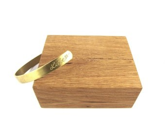 collection brass engraved Bangle Bracelet/cuff