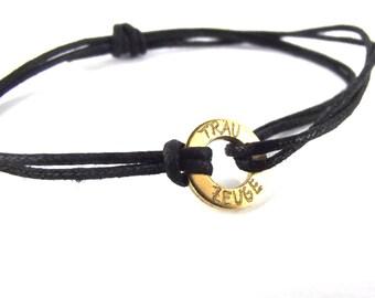 engraved bracelet * best man masculine brass