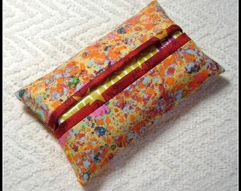 Artsy Tissue Holder - Pocket Tissue Holder - Handmade - Tissue - Kleenex - Tissue Holder - Cotton Fabric - TC70