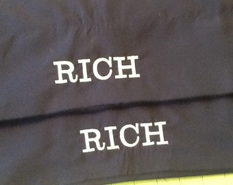 Monogram/Name Standard Pillow Cases