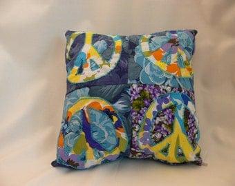Peace Mini Pillow - Peace on both sides