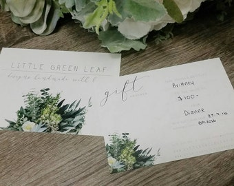 Little Green Leaf // Gift Voucher