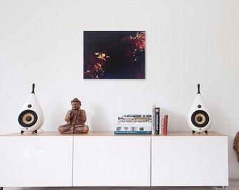 61 - original abstract painting (acrylic on canvas) wall art interior design homedecor