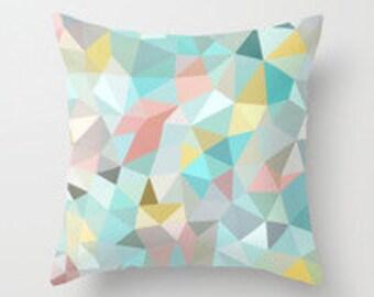 Geo Printed Decorative Micro Fiber printed pillow cover