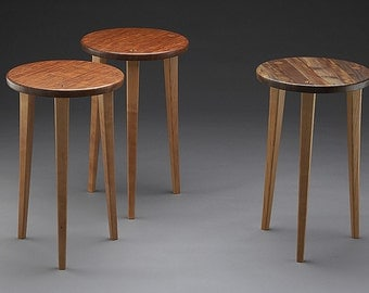 "ONE Three-Legged End Table - ""Tripod"""