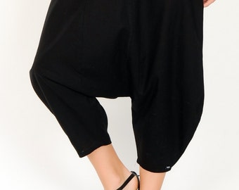 Incredible harem trousers made from linen