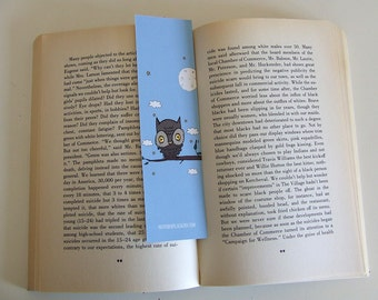 Bookmark Owl 2 - Owl Collection
