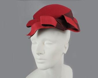 Vintage 50s Lilly Daché Paris, NY Hat