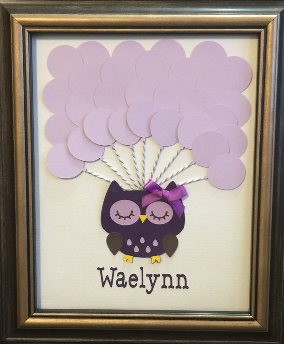 owl baby shower sign in book baby shower owl guest signature book