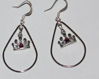 Chango Inspired tear drop earring