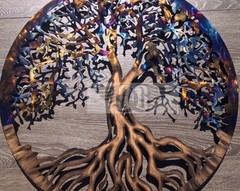 Large Tree of Life Wall Decor 45 Inch Diameter