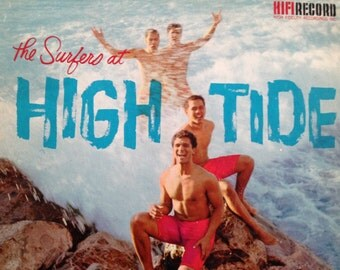 The Surfers at High Tide - vinyl record